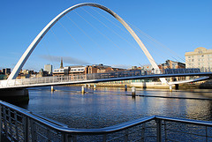 The Millenium Bridge (photographed by Craig Waller)