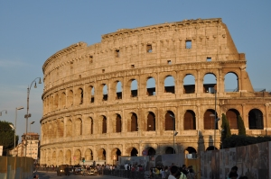 The Colosseum, home of the 'games'.
